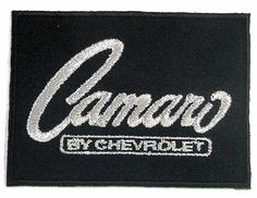 Camaro by Chevrolet Patch