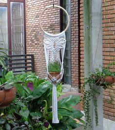 Macrame Plant Hanger Butterfly