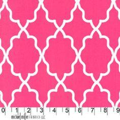 Michael Miller House Designer - Mod Basics - Moroccan Lattice in Pink