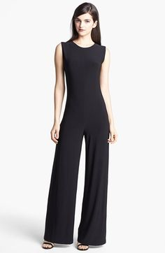 Free shipping and returns on KAMALIKULTURE Wide Leg Jersey Jumpsuit at Nordstrom.com. Sweeping palazzo legs and a monochromatic palette turn this minimalist jersey jumpsuit into a killer retro statement piece.