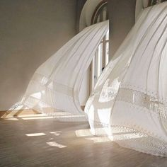 Melancholia in Arcadia, 2011 – a beautiful sculpture by artist and filmmaker Gabriel Lester reminding us of the open-window days of spring… White Lace Curtains, Wild Is The Wind, Carlos Castaneda, Chimamanda Ngozi Adichie, Dance Images, Vigan, Cicely Mary Barker, The Great Gatsby, Open Window