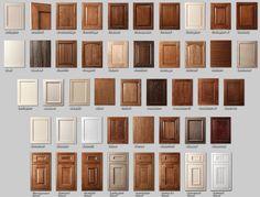 4. cabinet door styles. Kitchen ... & Kitchen Cabinet Door Styles Kitchen cabinets | kitchens | Pinterest ...