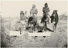 Collections Search Center, Smithsonian Institution. Geronimo and Naiche on horseback.