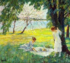 The Picnic ~ Edward Cucuel