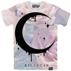 T-SHIRT-UNISEX-Pastel-Moon-KILLSTAR-clothing-alternative-gothic-punk-pinup