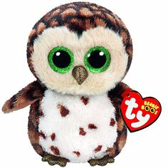 Add Sammy, the plush brown owl, to your Ty Beanie Boo collection today! Sammy Ty Beanie Boo – Brown Owl is the perfect addition to your Ty Beanie Boo plush collection! Ty Animals, Plush Animals, Stuffed Animals, Stuffed Toys, Ty Beanie Boos Collection, Ty Peluche, Ty Boos, Rare Beanie Babies, Rare Beanie Boos