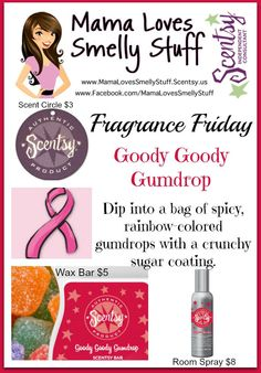 Fragrance Friday {Scentsy Pick of The Week} – Goody Goody Gumdrop #Scentsy #FragranceFriday #MamaLovesSmellyStuff #gifts #Christmas #GoodyGoodyGumdrop