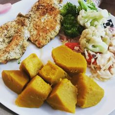 Refeição pós treino. Frango/ abóbora /brocolis /couve flor/repolho.  #paleo #paleodiet #eatclean #dieta #diet #nutrição #nutricaofuncional #nutrition #lowcarb #crossfitvilamadá #crossfit by conradoparizi