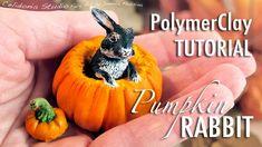 tutorial: miniature rabbit in a pumpkin