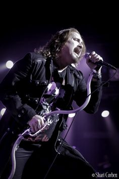 Dream Theater's James LaBrie - December 4, 2011 at Mesa Arts Center in Mesa, AZ