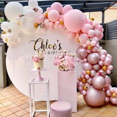 Wedding party backdrop white wrought iron square Pillars dessert table birthday party cake flower stand home decoration accessories - Geburtstag Dekoration 1st Birthdays, 1st Birthday Parties, Girl Birthday, Cake Birthday, Birthday Backdrop, 21 Birthday Balloons, Peppa Pig Happy Birthday, Birthday Event Ideas, Classy Birthday Party