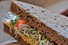 Positively Perfect #GlutenFree Pumpernickel Bread recipe. The ingredients may surprise you; the results will wow you! http://blog.julesglutenfree.com