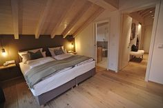 Site WoodWorking My Site Life - Just another wellmodels site Attic Bedroom Designs, Holiday Hotel, Loft Spaces, Beautiful Hotels, Smart Home, New Homes, Interior Design, Furniture, Home Decor