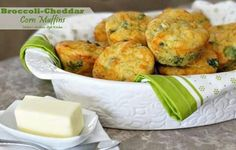 Brocolli cheese corn muffins.