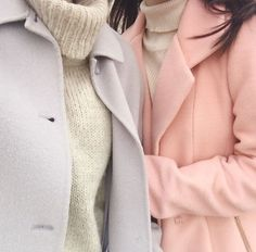 pastels for winter
