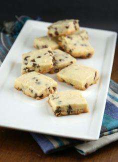 Authentic Suburban Gourmet: Coconut Chocolate Chip Shortbread Cookies