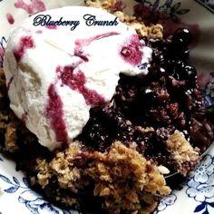 ~ Blueberry Crunch ~