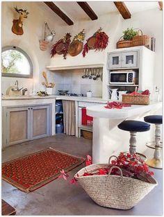 Pure harmony in a Spanish Cottage - Arredamento Shabby