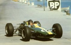 Fifty years ago in 1964 Jim Clark's Lotus qualified on the pole at Monaco.