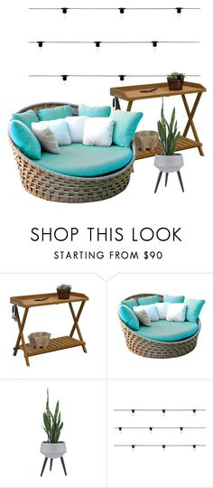 """""""paradise"""" by asner-bond ❤ liked on Polyvore featuring interior, interiors, interior design, home, home decor, interior decorating, Skyline and Seletti"""