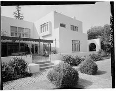 Irving Gill/ Dodge House/ 1913/ Los Angeles, CA (demolished)
