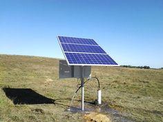 Bombeo Solar, Solar Panels, Outdoor Decor, Water Well, Deep, Water, Sun Panels, Solar Power Panels