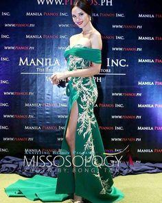 """ถูกใจ 45 คน, ความคิดเห็น 1 รายการ - Mikee Andrei (@mikeeandrei) บน Instagram: """"Candidate #13 Catriona Gray in a #mikeeandreicreation at the Miss World Philippines 2016 talent…"""" Manila, Gray Instagram, Instagram Posts, Piano, Filipiniana, Miss World, Strapless Dress, Fashion Dresses, Formal Dresses"""