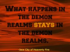 the demon realms is obviously the new vegas | city of heavenly fire