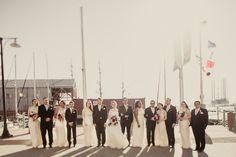 Vintage Bridal Party Galveston, Texas