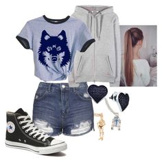 """Olivia (2)"" by andyspinja on Polyvore featuring R2, Topshop, Converse, T By Alexander Wang, BillyTheTree, women's clothing, women, female, woman and misses"