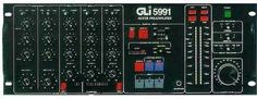 GLI 5991 Rotary Pots Professional Club Audio Mixer