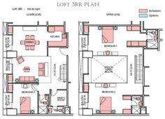 casa 3 quartos apartment plansloft apartmentshouse - House Plans With Loft