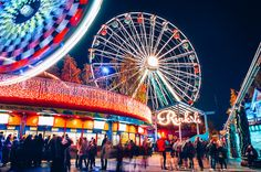 Linnanmäki Amusement Park - Helsinki - Finland
