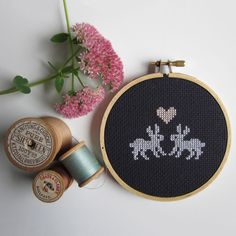 Chez Sucre Chez: Bunny Cross-Stitch Kit