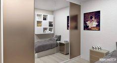 Quarto Menina Adolescente | Bedroom por NP Interiores - Núbia Procópio Interiores.