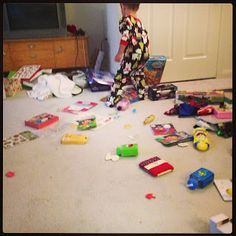 Crawl The Line : The Gift of Not Giving Anything - Why I don't want people giving my kids presents anymore. #Birthdays #holidays #Christmas