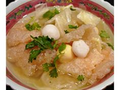 Fish maw soup | Delicious, nourishing and hearty, fish maw soup make a good addition to meals.