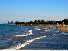 Beach At Nu Evanston Beautiful Chicago Illinois