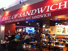 Earl of Sandwich (Planet Hollywood)