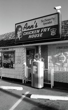 Route 66 - Ann's Chicken Fry House, Oklahoma City.