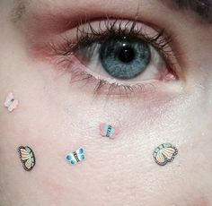 Could you use nail decals on your face?