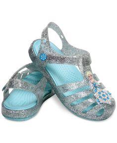 Crocs Isabella Frozen Sandals, Baby Girls (0-4), Toddler & Little Girls (4.5-3)