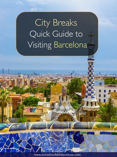 Quick Guide to Visiting Barcelona in Spain. Including information on getting around, suggestions of things to do and more - #barcelona #spain #europe #travel