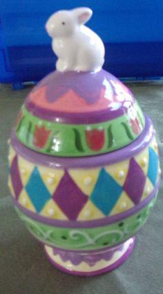 Easter Cookie Jar by David's Cookies