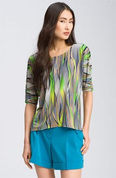 Abi Ferrin Print Top available at Nordstrom