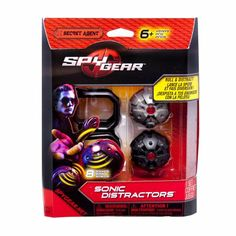 Amazon.com: Spy Gear - Sonic Distractors Master Carton/Assortment: Toys & Games