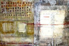 Brenda Holzke - INSTUMENTAL HANDLE mixed media on panels