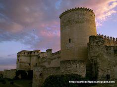 Castles of Spain.: Castle of Cuellar (Segovia) Castilla y León. Castillo de Cuellar.