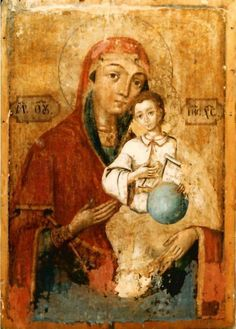 Holy Theotokos and Christ Child. Religious Icons, Religious Art, Anima Christi, Madona, Religious Paintings, Byzantine Art, Madonna And Child, Orthodox Icons, Blessed Mother
