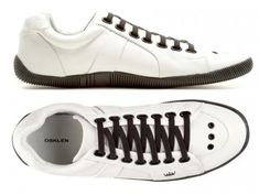 Tenis sapatenis masculino osklen elastico couro originais